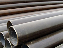 Carbon steel seamless pipes API 5L, 160-315mm pipe line