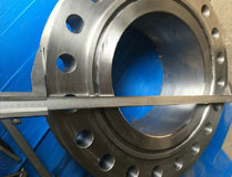 forged carbon steel astm a694 f70 welding neck flanges
