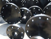 Galvanized carbon pipe flanges