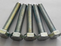 hex bolts DIN931 grade 10.9