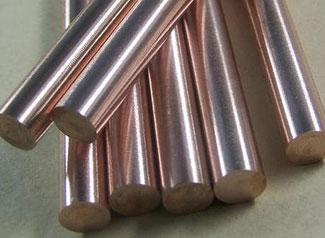 "4/% Copper Tungsten Alloy Rod0.375/"" dia 6/% Nickel x 12/"" long90/% Tungsten"